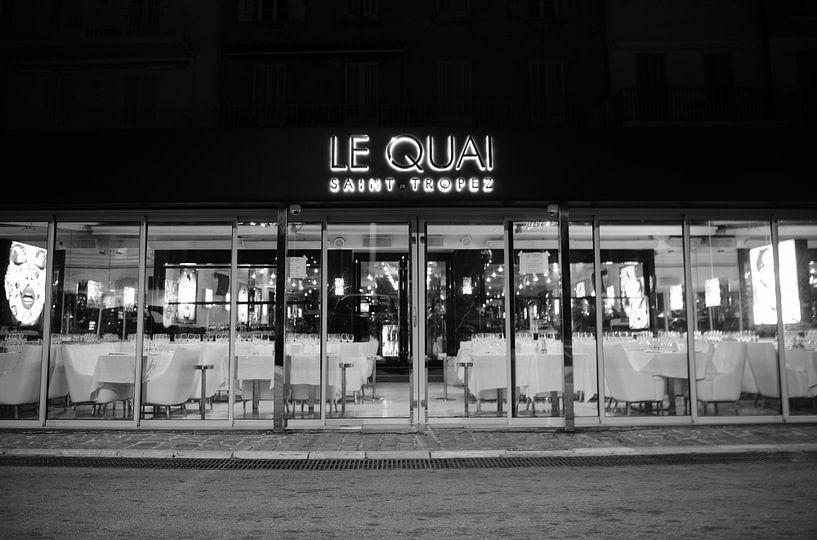 Le Quai Saint-Tropez door Tom Vandenhende van Tom Vandenhende