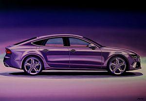 Audi RS7 2013 Schilderij
