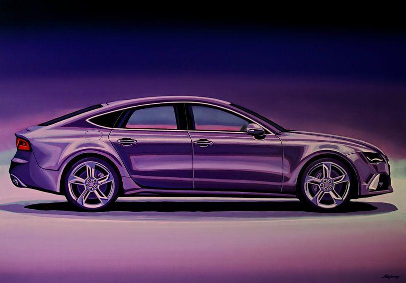 Audi RS7 2013 Schilderij van Paul Meijering