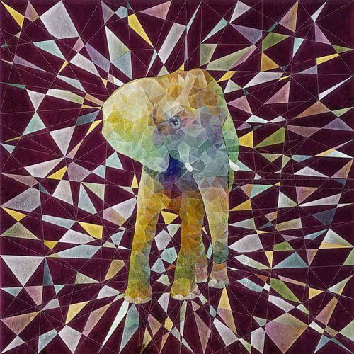 Abstakt Elefant van