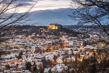 Winterliches Marburg an der Lahn
