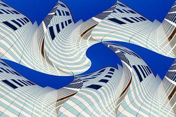 Haagse gebouwen anders  07 van Hans Levendig (lev&dig fotografie)