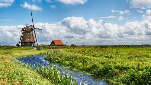 Hollands landschap Akersloot van Dennis Schaefer