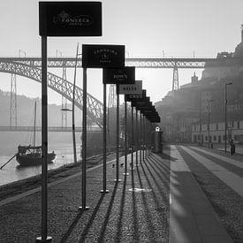 Porto in de vroege uurtjes van Steve Mestdagh
