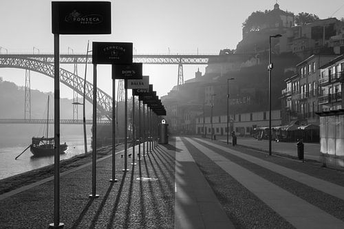Porto in de vroege uurtjes van