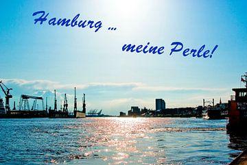 Hamburg ... mijn  parel! van Norbert Sülzner