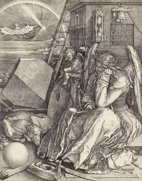 Albrecht Dürer.Melencolia von 1000 Schilderijen