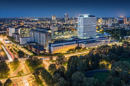Rotterdam blue hour | Erasmus MC