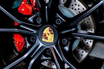 Porsche Rad in Schwarz von Truckpowerr