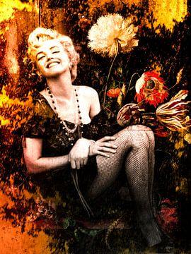 Marilyn Monroe Industrielle Weinlese von Helga fotosvanhelga