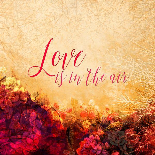 LOVE IS THE AIR van Pia Schneider