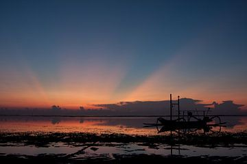 Zonsopkomst Bali van Andre Jansen