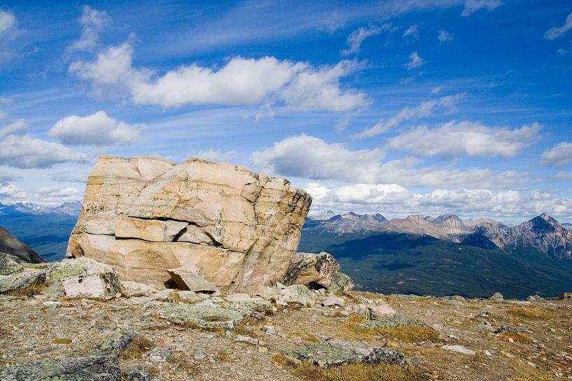 Big Rock, Rocky Mountains van Karin Hendriks Fotografie