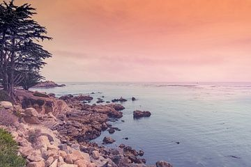 Californian sunset sur