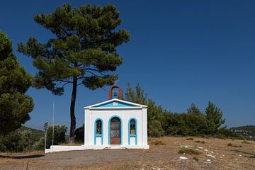 Kerkje op Samos van Elly Damen