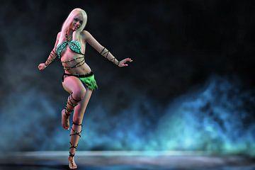 Dance Sexy Women - Dansende jonge vrouw