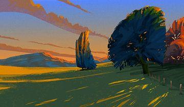 Die letzten Sonnenstrahlen von Thomas Dijkstra