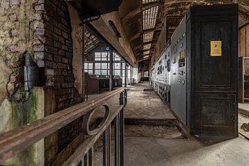 Verlassenes Kraftwerk, Urbex .. von Patrick Löbler