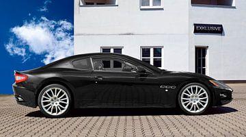 Maserati GranTurismo in black von aRi F. Huber