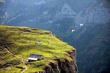 het paragliding van Jana Behr