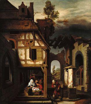 Die Anbetung der Hirten, Nicolaes Maes