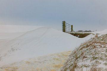 Opgewaaide sneeuw van Jaap Terpstra