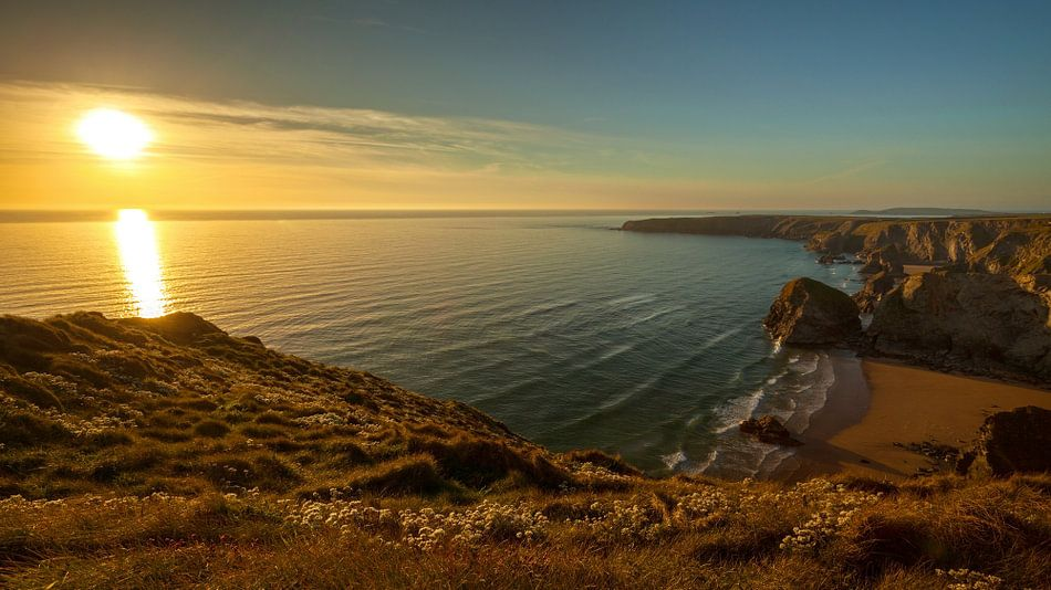 Cornish coast van Silvio Schoisswohl