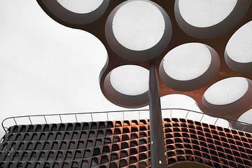 Zwiebeldach und Fassade Hohe Catharijne von Sander Jacobs