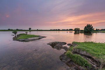 Gekleurde IJssel van Jan Koppelaar