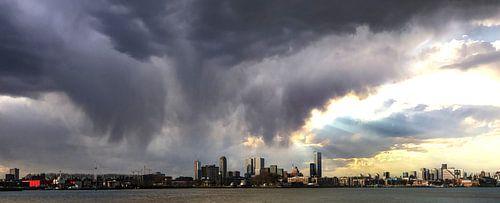 Ligne d'horizon de Rotterdam