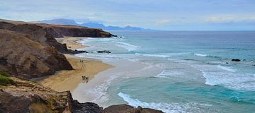 Surfstrand in Spanien, Fuerteventura von