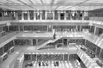 Stadtbibliothek Stuttgart van