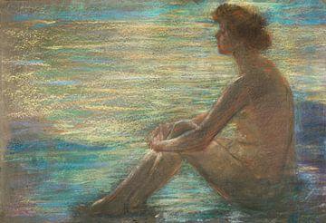 Nackt auf dem Meer, Alice Pike Barney von Atelier Liesjes