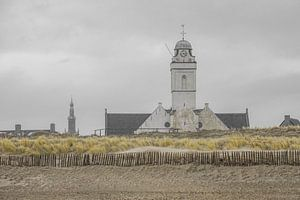 Kerk aan Katwijkse strand