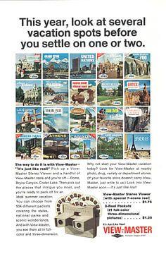 ANSICHT- MASTER-Werbung 1966 von Jaap Ros