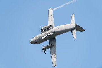 Alenia C-27J Spartan in een snelle bocht van Wim Stolwerk