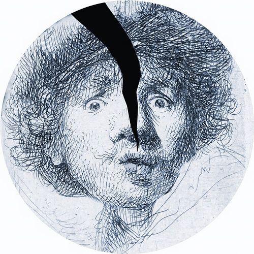 Rembrandt in Delfts Blauw