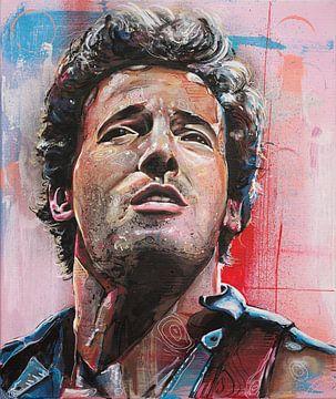 Bruce Springsteen malerei von Jos Hoppenbrouwers