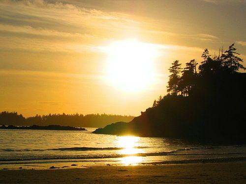 Vancouver Island sunset van