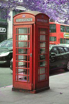 Telefooncel in Londen van