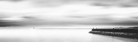 Zeepier breed panorama