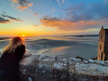 Mont Saint Michel von Celine Seelemann