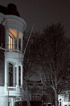 La Haye au clair de lune sur Raoul Suermondt
