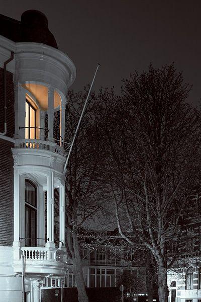 Den Haag bij maanlicht van Raoul Suermondt