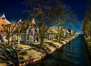 het Friese dorpje Olde Leije