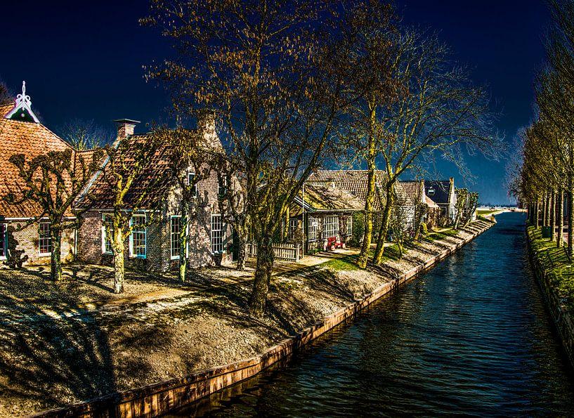 het Friese dorpje Olde Leije sur Harrie Muis