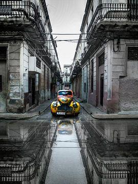 Klassieke oude auto in Havana, Cuba, Svetlin Yosifov van 1x