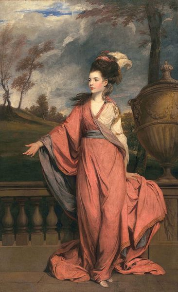 Jane Fleming, later Countess of Harrington, Sir Joshua Reynolds van Meesterlijcke Meesters