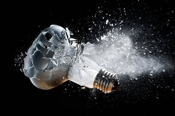 Tir sur ampoule
