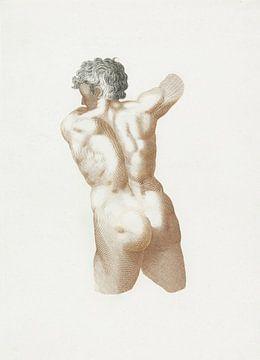 Nackter Mann, Johan Teyler (1688-1698) von Atelier Liesjes